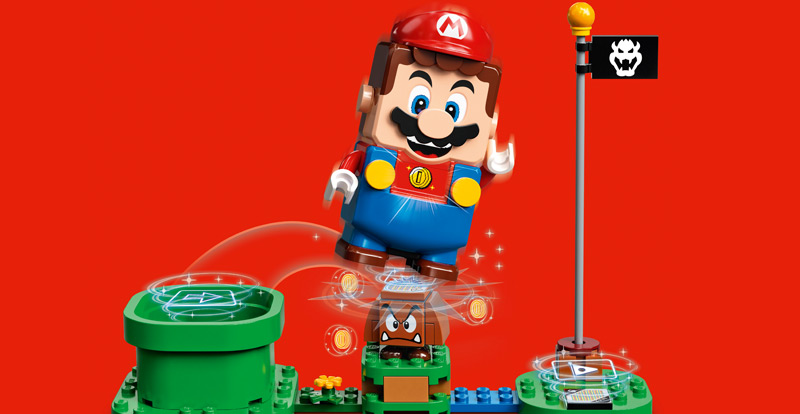 It's-a more LEGO Super Mario!