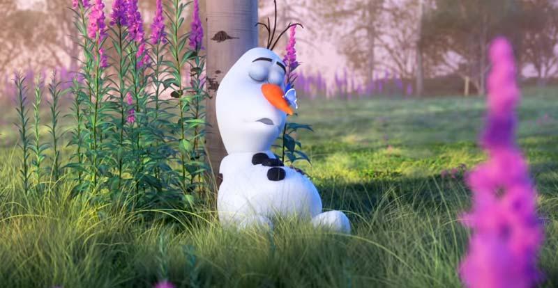 Olaf is keeping Disney's animators busy