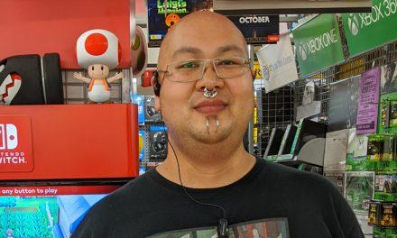 STACK's games Roving Reporter visits Morris at JB Galeries, NSW
