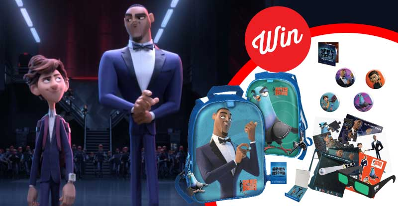 Spies In Disguise is here!