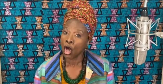 Angélique Kidjo lets rip on 'Beds Are Burning'