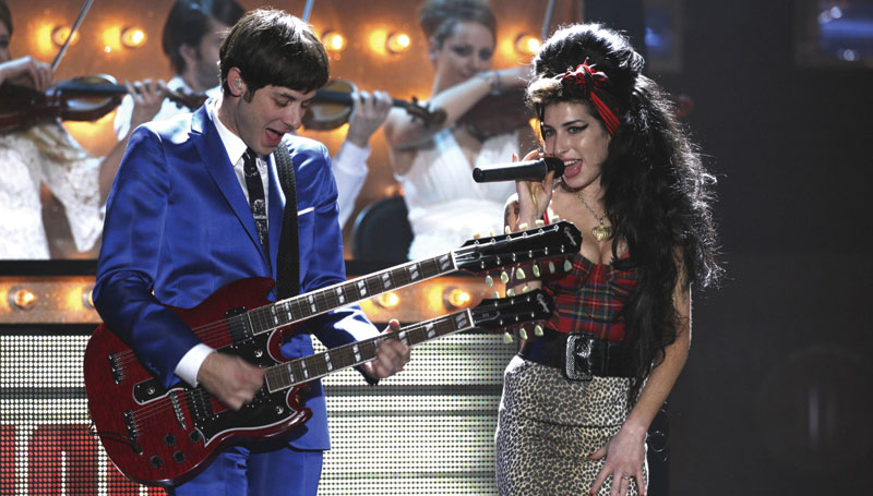 Amy Winehouse and Mark Ronson