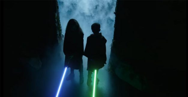Letting loose the wannabe Jedi kids!