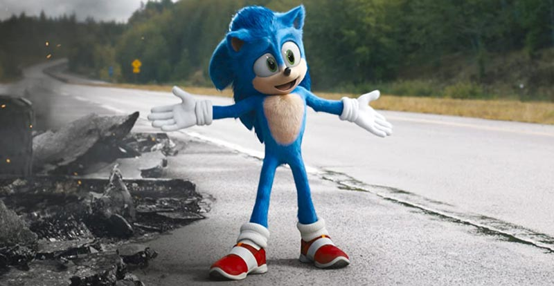 Sonic and the red shoes