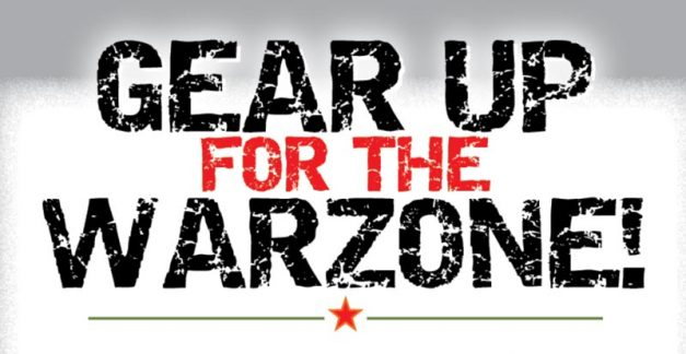 Gear up for the Warzone!