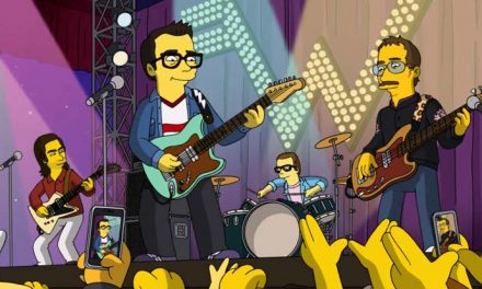 Weezer rock The Simpsons theme!