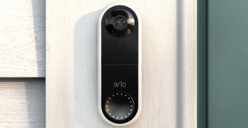 Playing with the Arlo Video Doorbell