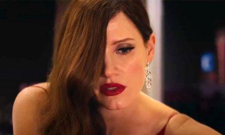 Jessica Chastain shoots to kill in Ava