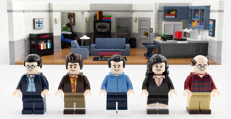A LEGO set about nothing? Seinfeld gets blocky