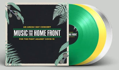 Music From The Home Front vinyl packaging