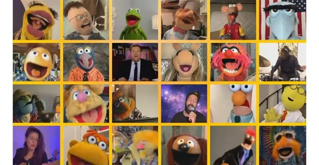 The Muppets go big on 'With a Little Help from My Friends'