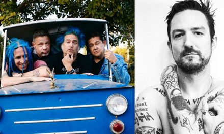 NOFX and Frank Turner sitting in a tree, R-E-C-O-R-D-I-N-G