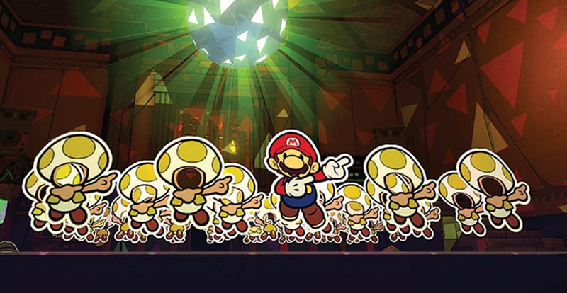 Flat out with Paper Mario!