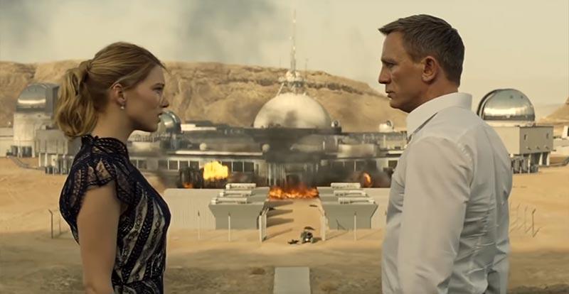 "Relive James Bond's biggest ""BOOM!"""