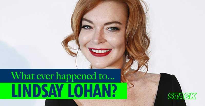Whatever happened to… Lindsay Lohan?
