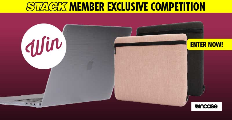 "WIN a MacBook Pro 16"" and awesome Incase products!"