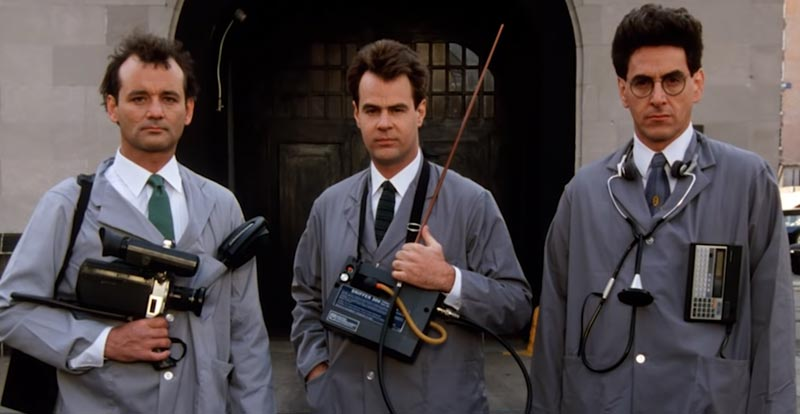 Ghostbusters from the cutting room floor