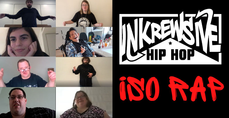 Disability hip hop collective Inkrewsive release 'Iso Rap'