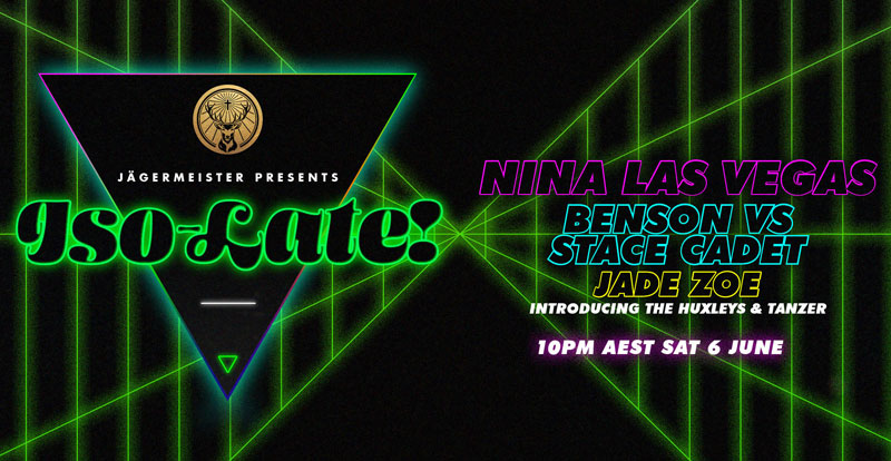 ISO-LATE lassos Nina Las Vegas into party #4 (this weekend!)