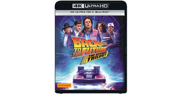 4K Back to the Future trilogy coming to Australia