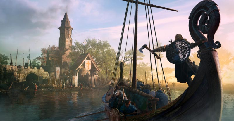 Setting sail with Assassin's Creed Valhalla