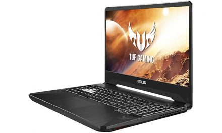 Playing with the ASUS FX505DV gaming laptop