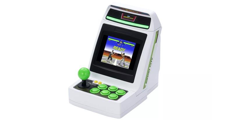 SEGA bringing us a little arcade machine