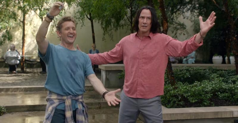 An excellent new look at Bill & Ted Face the Music