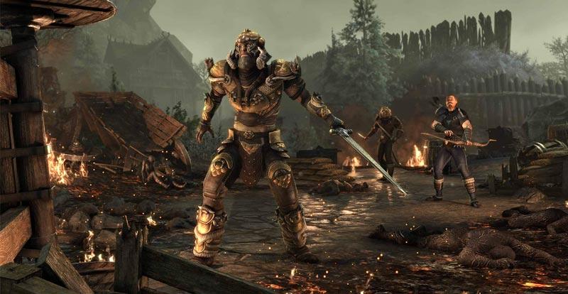 Catching up with Elder Scrolls Online