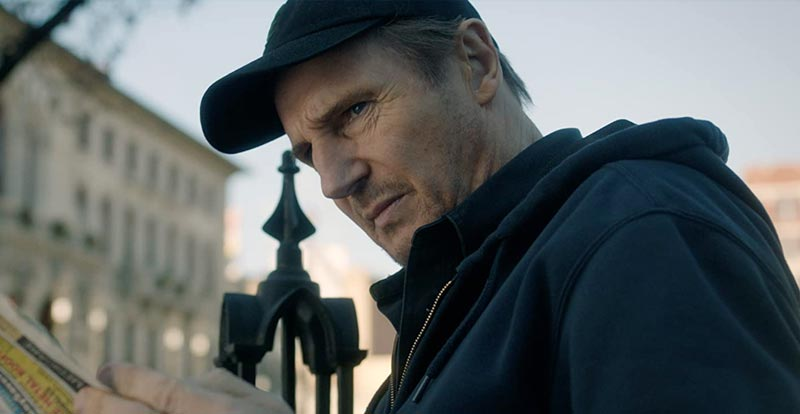 Liam Neeson is an honest thief in, erm, Honest Thief
