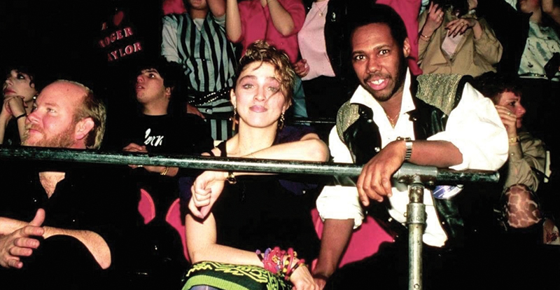 Madonna and Nile Rodgers
