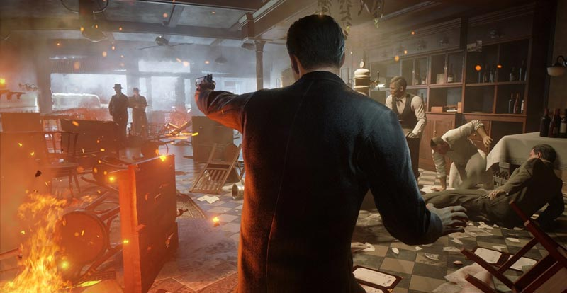 """A """"meet and greet"""" with Mafia: Definitive Edition"""