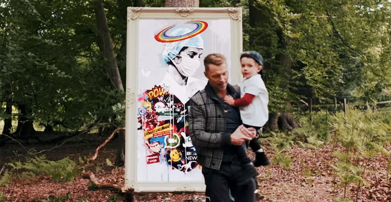 Ronan Keating reveals story behind clip's beautiful centrepiece