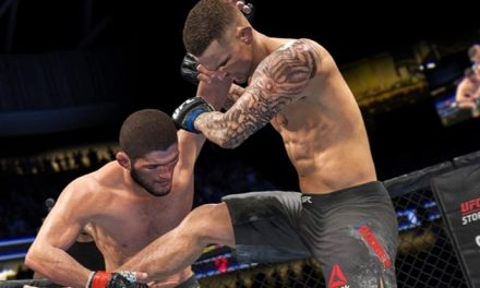 Check out EA Sports' UFC 4