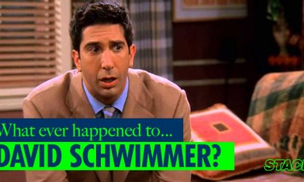Whatever happened to… David Schwimmer?