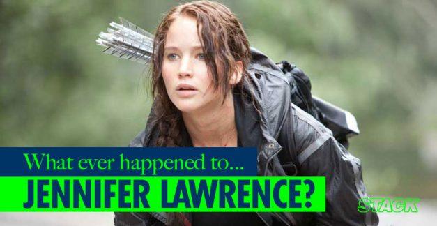 Whatever happened to… Jennifer Lawrence?