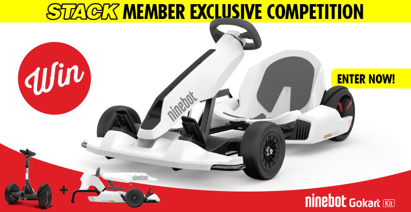 WIN 1 of 2 Segway Ninebot Gokart bundles!