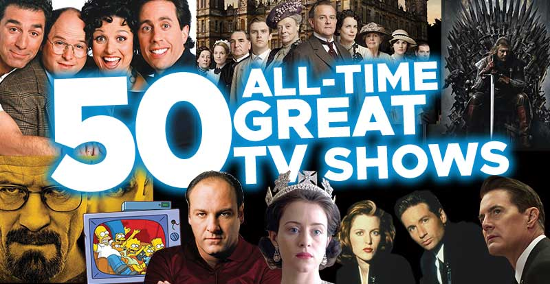 STACK's 50 All-Time Great TV Shows