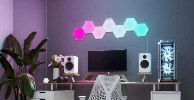 Playing with Nanoleaf Shapes – Hexagons