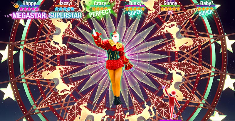 Tones and I monkeys about in Just Dance 2021