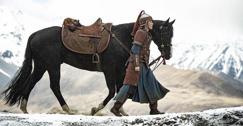 Saddle up for a new look at Mulan