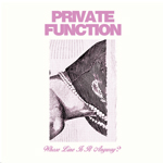 Album cover for Whose ine is It Anyway by Private Function