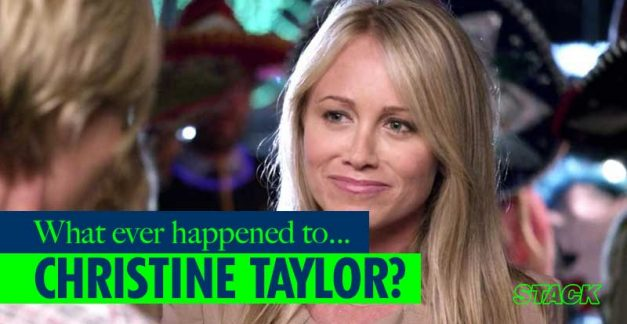 Whatever Happened to… Christine Taylor?