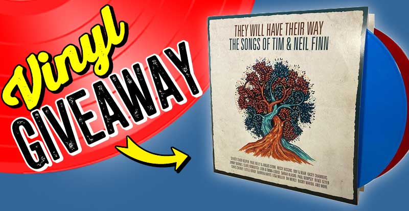 New release vinyl giveaway: They Will Have Their Way (Limited Red/Blue Vinyl)