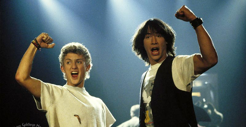4K October 2020 - Bill & Ted's Excellent Adventure