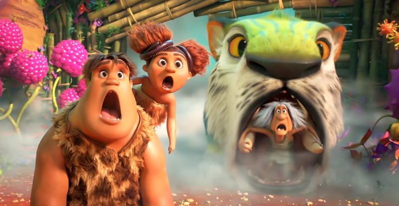 There's a new Croods movie coming…