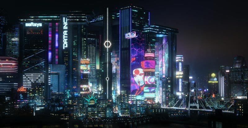 Visit Cyberpunk 2077's Night City