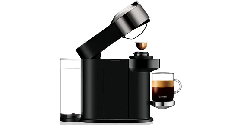 Playing with the Nespresso Vertuo Next Coffee Machine