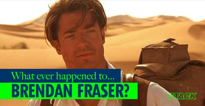 Whatever Happened to… Brendan Fraser?