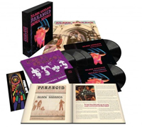 Deluxe vinyl collection for reissue of Paranoid by Black Sabbath